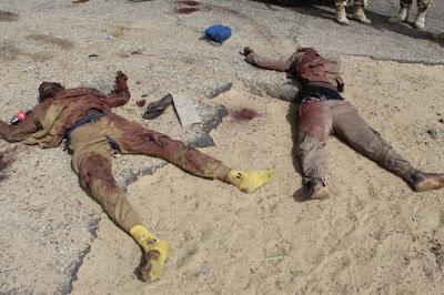 PHOTOS: Troops Kill Boko Haram/ISWAP Members, Injured Many In Monguno, Borno State