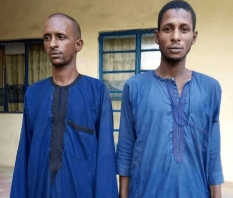Police Arrests Two Men For Butchering And Killing An 18-year-old Lady (Photos)