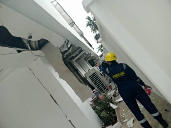 Gas Explosion Kill One, Injure 3 In Lagos (Photos)