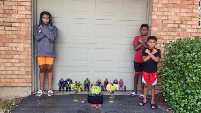 7-year-old Boy Held A Heartbreaking Memorial For Chadwick Boseman