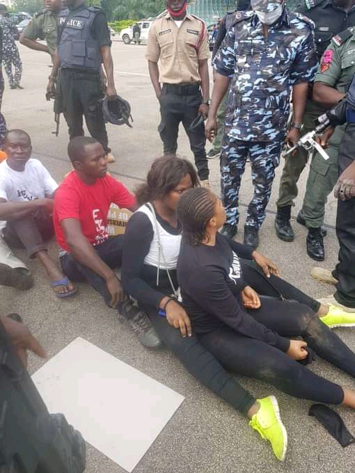 RevolutionNow Protesters arrested In Abuja