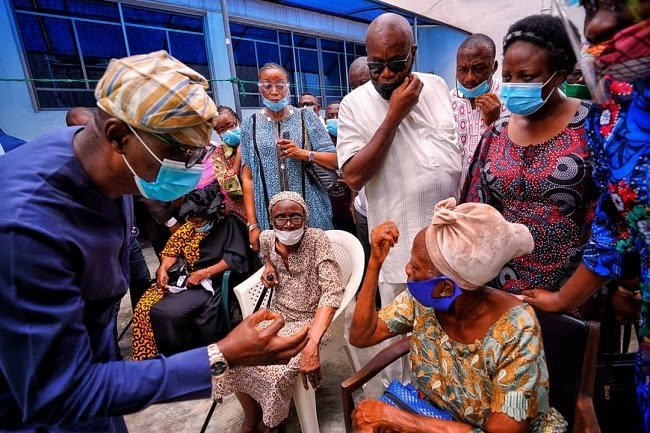 Sanwo-Olu Visits Helicopter's Crash Site, Promise To Repair Damages