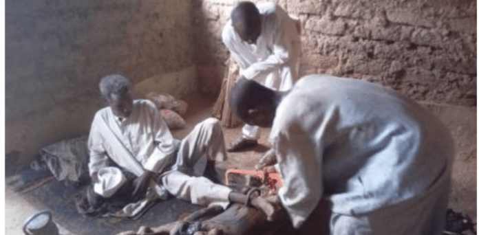 Police Rescue Another Man Chained For 30 Years In Kano