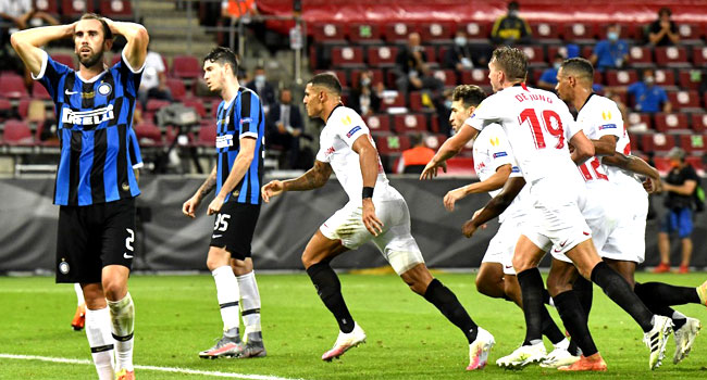 Sevilla Clinch Europa League Trophy After 3-2 Win Over Inter Milan