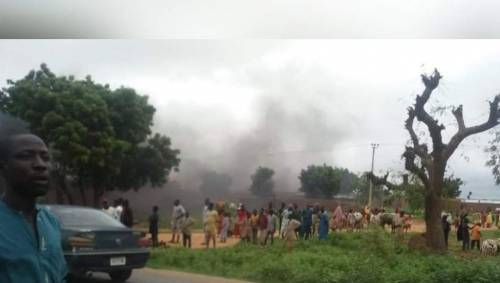 Katsina Residents Protest Against Bandits Attacks In The State