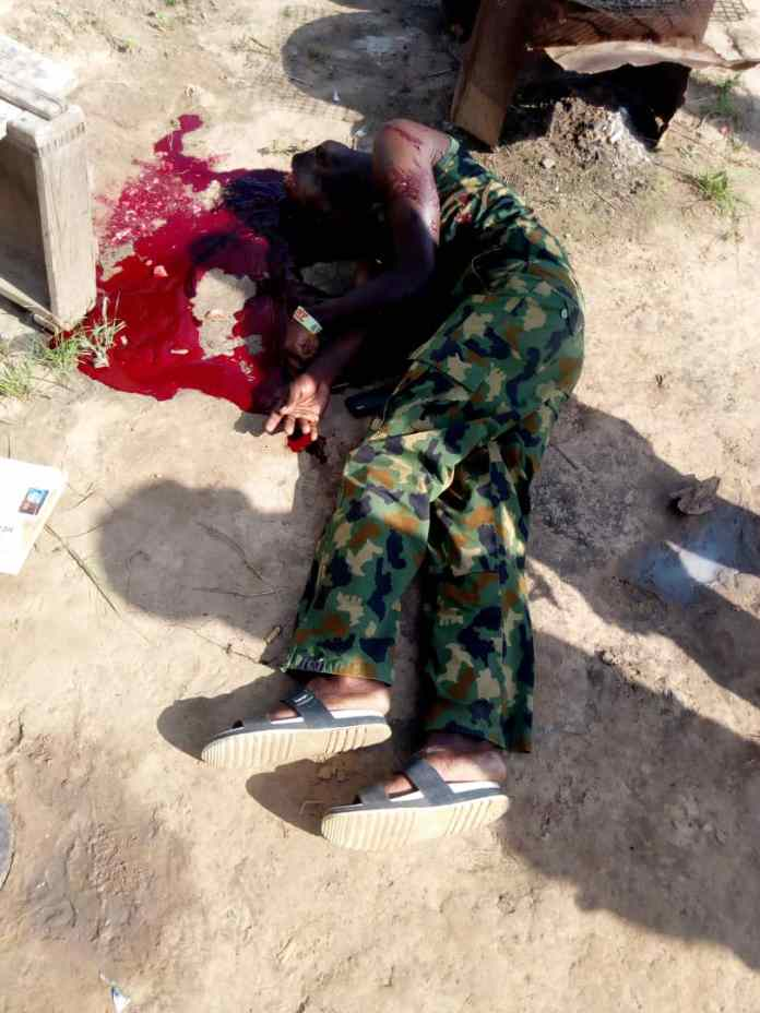 Nigerian Soldier Commits Suicide In Yobe, Leaves Suicide Note For Wife