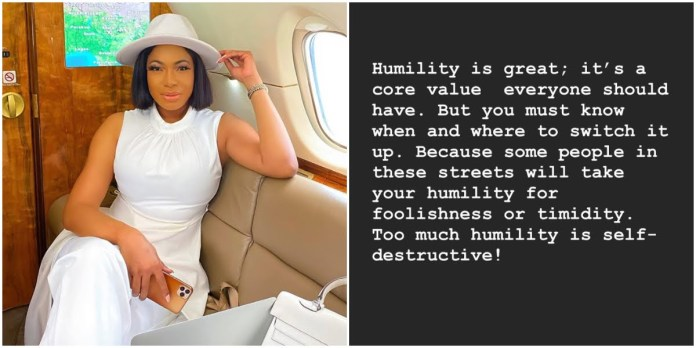 """Too Much Humility Is Self-destructive"" - Actress Chika Ike"