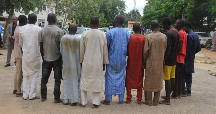 Police arrests gang which kept a 14-year-old girl as s3x slave for a month in Bauchi