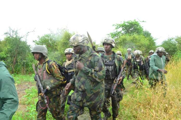 Troops Kill 9 Boko Haram Terrorists, Rescue Kidnapped Victims In Borno