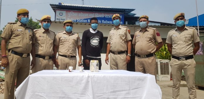 Nigerian arrested in India with expired visa and 250 grams of cocaine