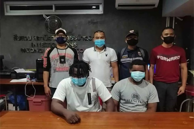 2 Nigerians Arrested In Thailand For Romance Scam