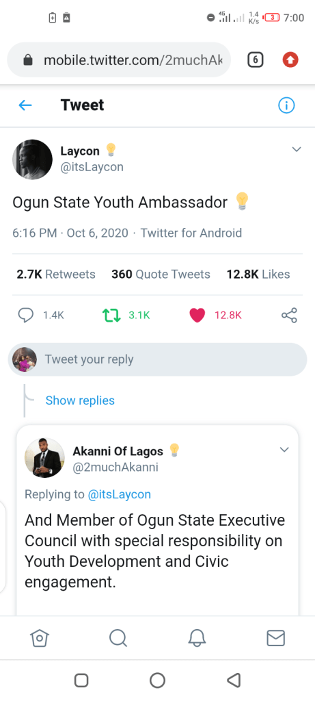 Ogun Gov Appoints BBNAIJA's Laycon As Youth Ambassador Plus Special Offers