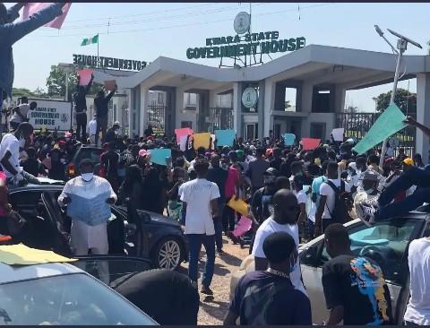VIDEO: #EndSARS Protesters In Ilorin