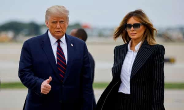 BREAKING: President Trump And First Lady Melania Test Positive For COVID-19