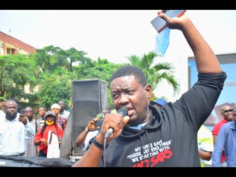 Pastor Adeboye Son Leads #EndSARS Service Outside Lagos Government House