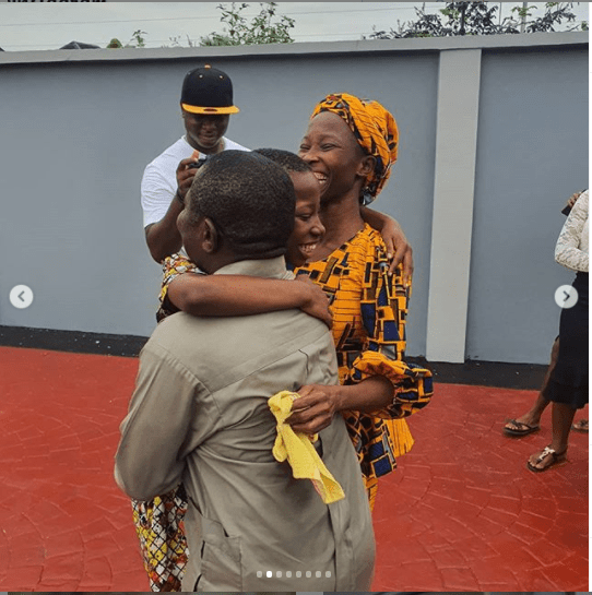 See Lovely Photos As Emmanuella Unveils New House She Built For Her Mum