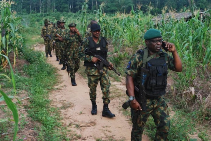 Army Raids Kidnappers Hideouts, Arrests Scores In Edo State (Photos)