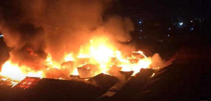 Ghana: Fire Outbreak At Odawna Market Again