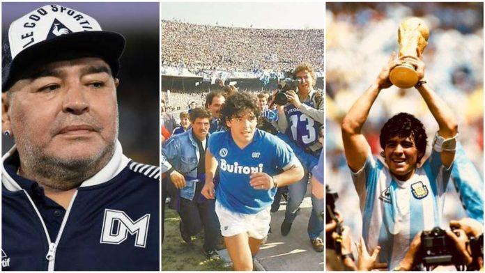 Argentina Legend, Diego Maradona Passes Away At 60