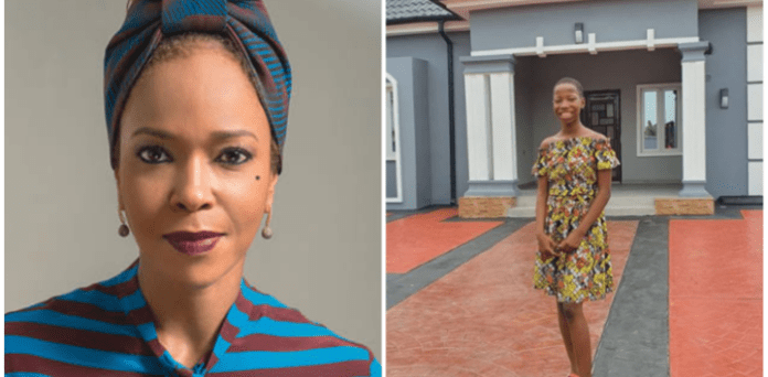 Tell Us Your Source Of Income - Kemi Olunloyo Tells Emmanuella After House Gift To Mom