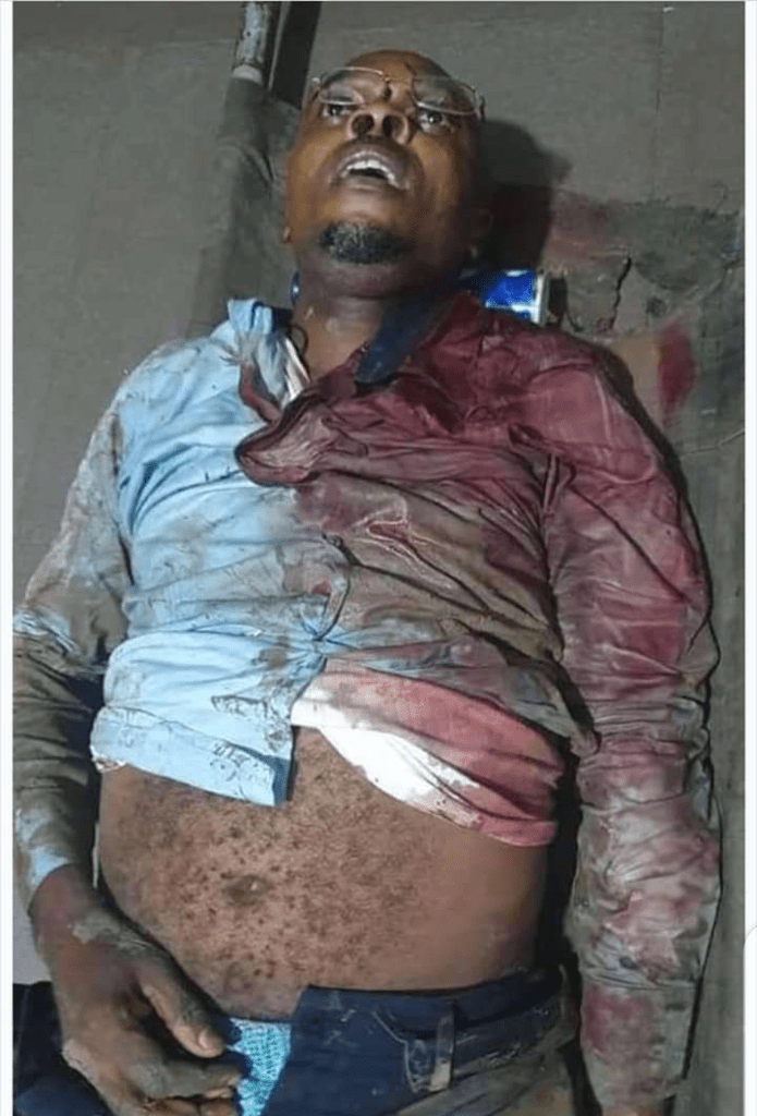 Engineer Murdered By Unknown Gunmen In Rivers State (Graphic Photos)