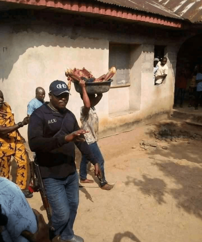 Lady Kills Her Mother, Chop Her Body Into Pieces In Akwa Ibom (Graphic Photos)