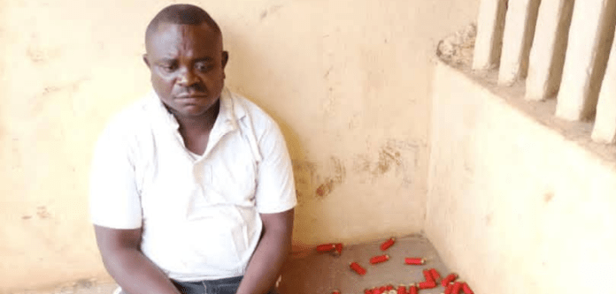 Illegal Gun Supplier Arrested By Police In Cross River State (Photo)