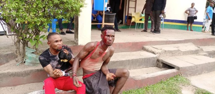 Security Operatives Arrests Notorious Armed Robber And His Gang Member In Calabar
