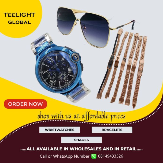 wristwatch, shades, bracelet