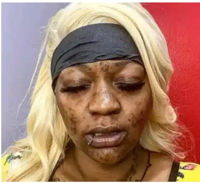 Make Up Must Be Banned: Checkout The Transformation Of A Lady After Make Up