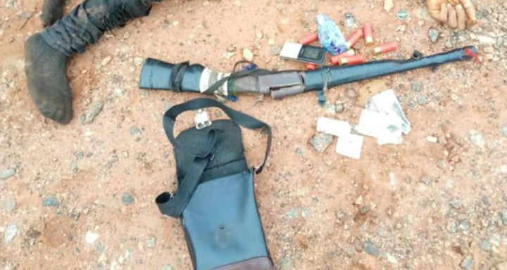 Police Kills Kidnapper During A Shootout With The Gunmen In Edo State (Photo)