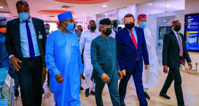Osinbajo Attends Premiere Of Nollywood Movie, 'The Silent Baron' (Photos)
