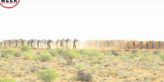 18 Convicted Al-shabab Militants Executed In Somalia (Video)