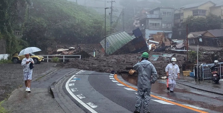 Two Bodies Found, 19 Persons Missing In Japan Massive Landslide
