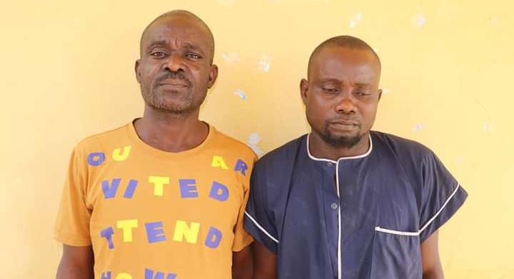 Police Intercepts Two Human Traffickers, Rescue Five Victim
