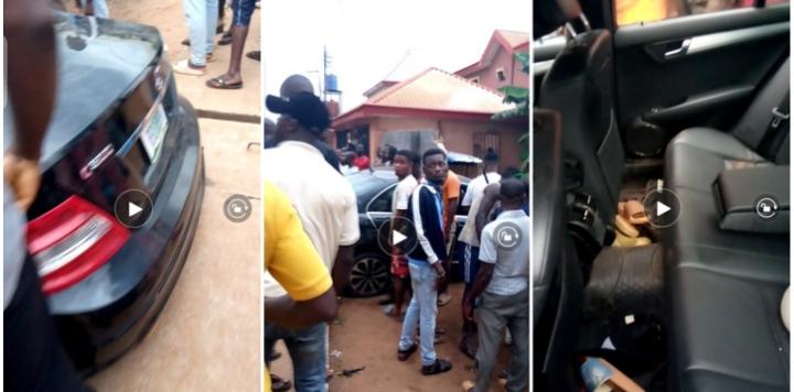Police Intercepts A Car, K!lls One, Arrests One, Three On The Run (Photos)