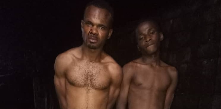 Police Arrests Two Notorious IPOB/ESN Members In Imo (photo)