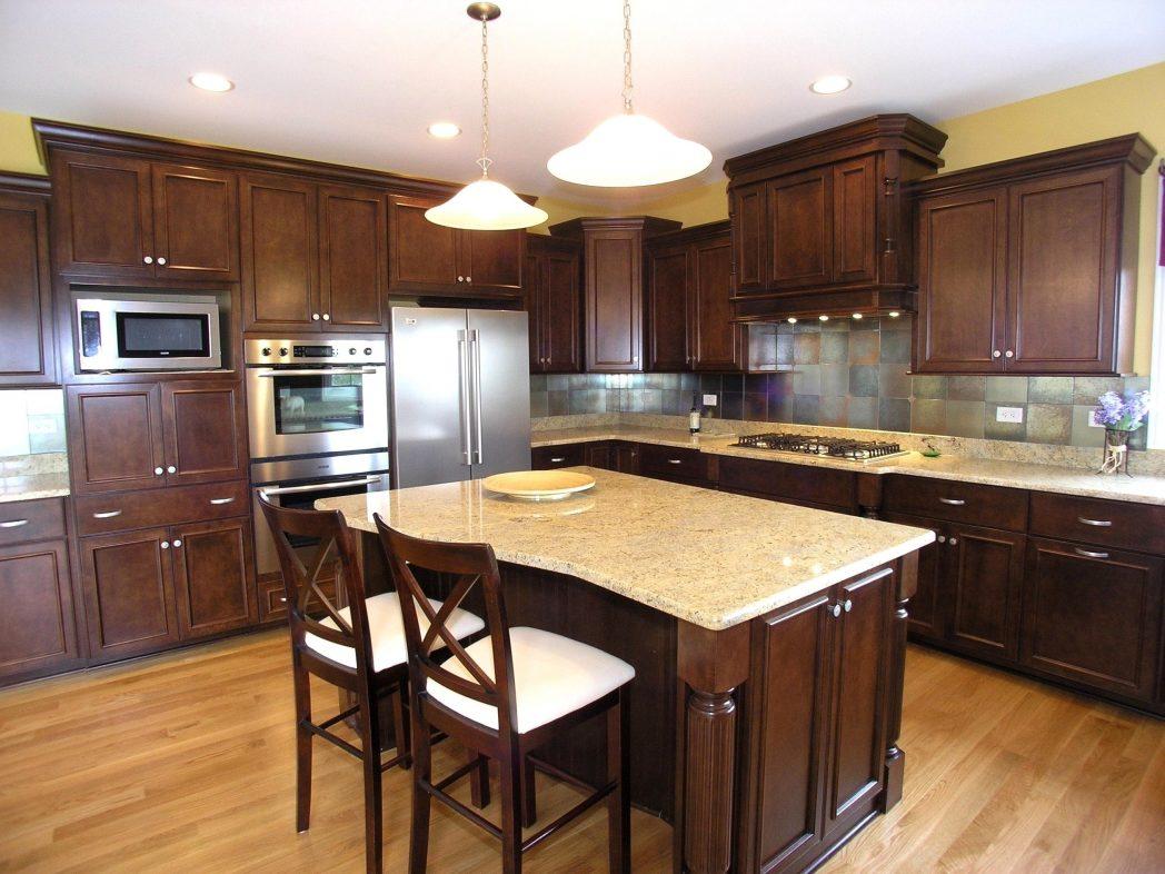 Colors White Cabinets Popular Granite Kitchen Color ... on Best Granite Color For Maple Cabinets  id=13301