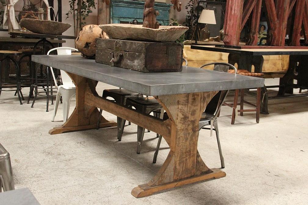 metal top dining table freshsdg