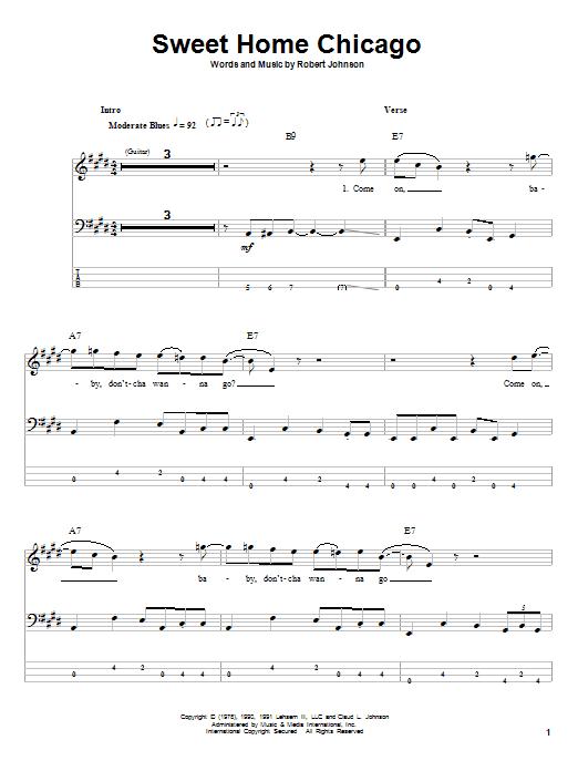 Aug 13, 2021· create and get +5 iq. Robert Johnson Sweet Home Chicago Sheet Music Pdf Notes Chords Pop Score Bass Guitar Tab Download Printable Sku 57273