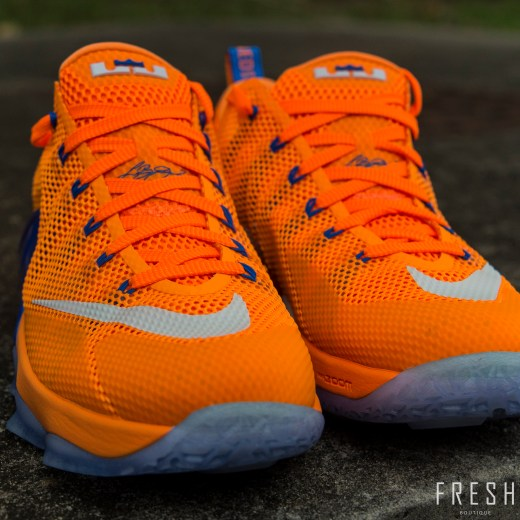 Lebron XII Low Orange 1