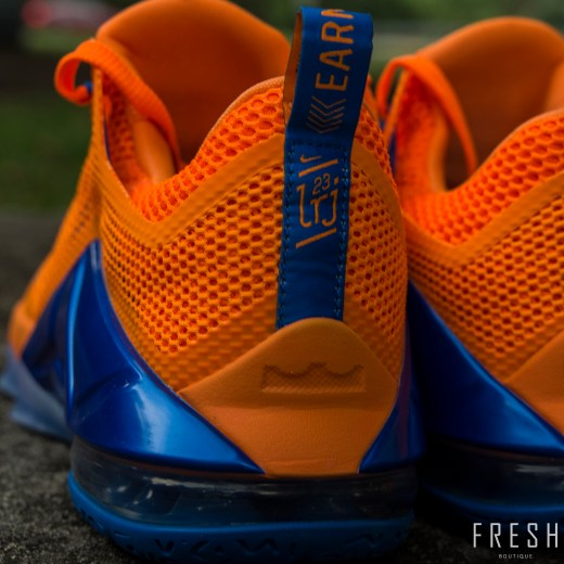 Lebron XII Low Orange 3