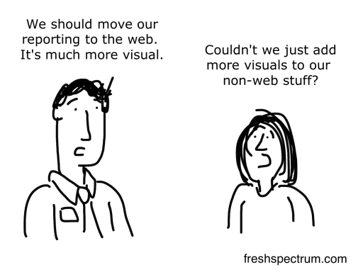 Can't we visualize the non-web stuff cartoon by Chris Lysy