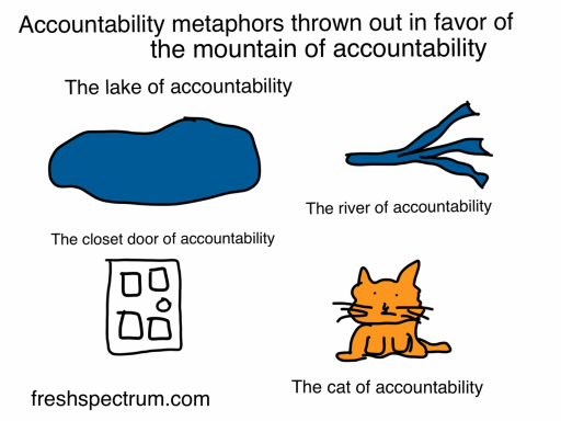 Cat of accountability cartoon by Chris Lysy
