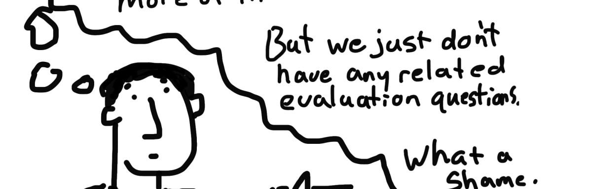 Data Science versus Evaluation