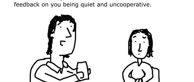 Don't be a qualitative bully.