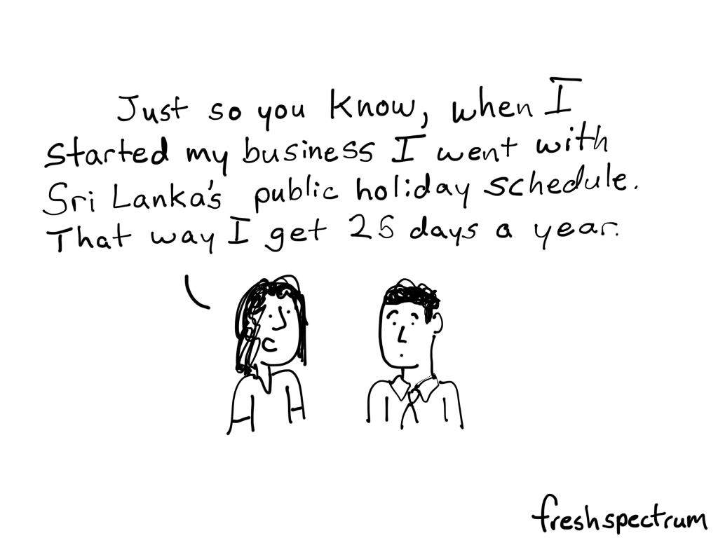 More Holiday Time
