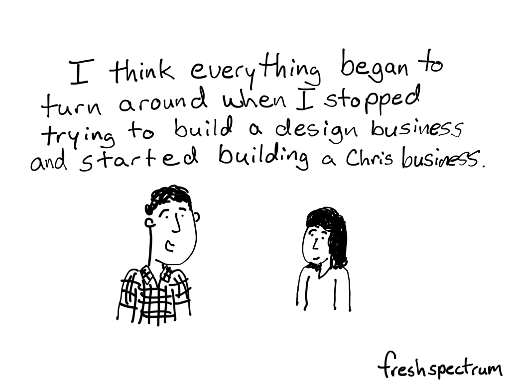 A Chris Business, inspired by Ben Wechsler