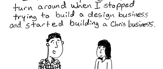 A Chris Business, inspired by Ben Wechsler