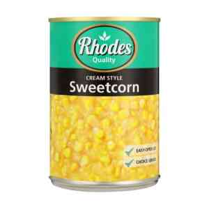 Rhodes Cream Style Sweetcorn (1 x 410g)
